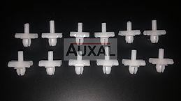 Agrafe - agraphe  baguette bas de caisse Renault 5 - R5 sill trim clip clips