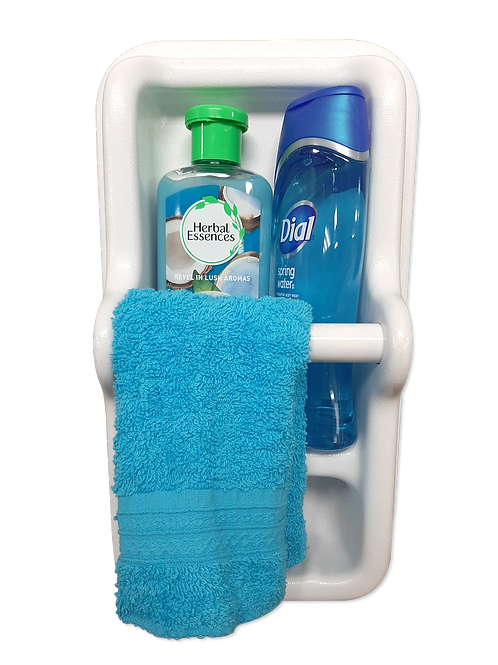 DUO SOAP DISH/TOWEL HOLDER KIT