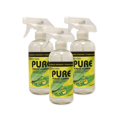 Duo PURE Plastic Cleaner - 3 PACK