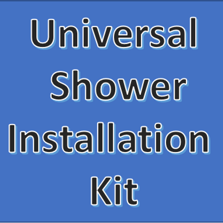 DUO UNIVERSAL SHOWER: INSTALL KIT