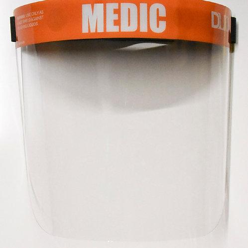 DUO FACE SHIELD: Orange (Medic)