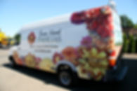 Sprinter Van Wrap with Flower Graphics
