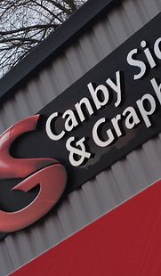 Candy Signs & Graphics Building Sign