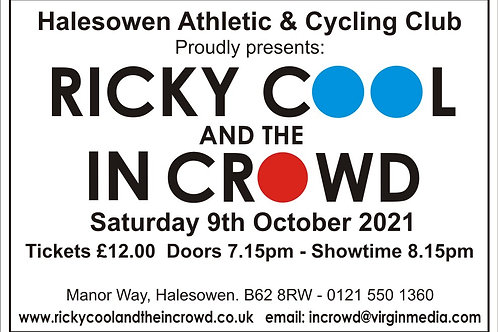 Halesowen Athletic Club Ticket