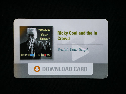 Watch Your Step Album Download Card