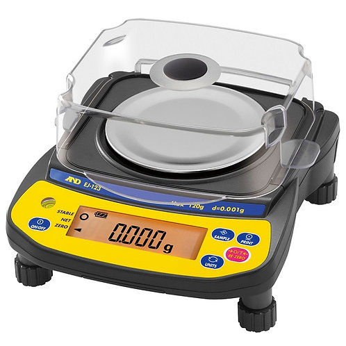 Supplied by A&D Australasia - Newton EJ-123 High Precision Scale