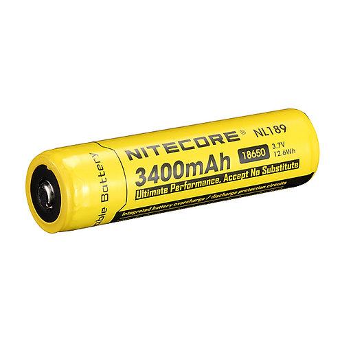 NITECORE 18650 3400mAh Rechargeable