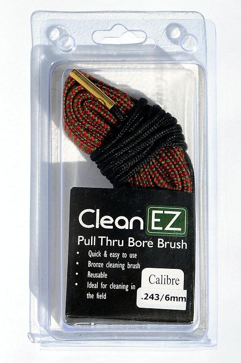 Clean EZ Pull Thru Bore Brush .243/6mm