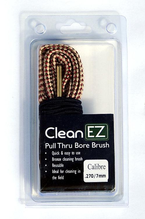 Clean EZ Pull Thru Bore Brush .270/7mm