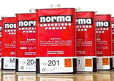 norma gunpowder, tins, smokeless, nz