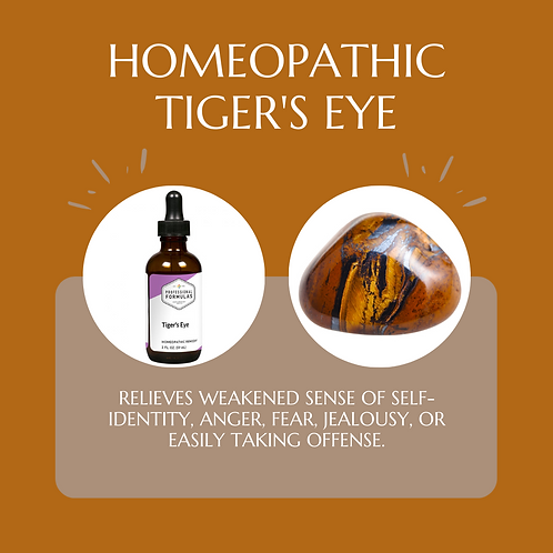 Tiger's Eye Crystal Therapy