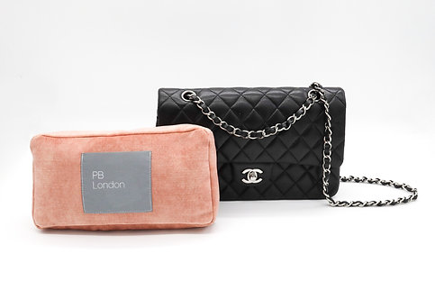 Pillow to fit the Chanel Classic Flap - Blush Velvet