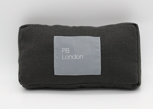 Pillow to fit a Chanel Flap Bag Small in Dark Linen
