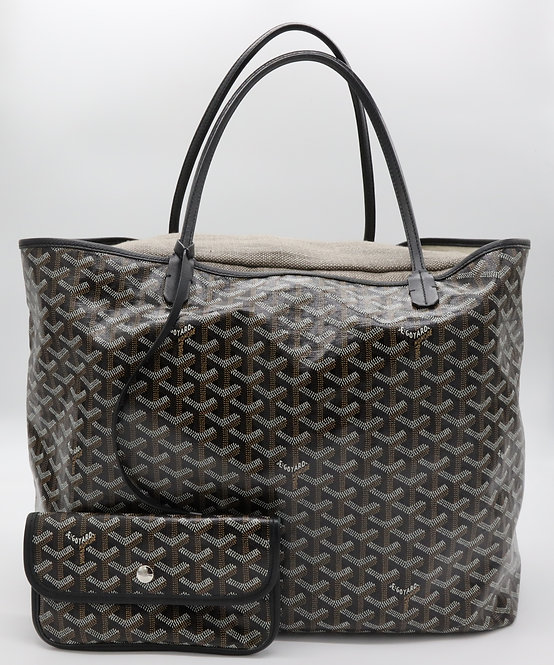 Pillow to fit a Goyard St Louis GM Tote in Natural Linen