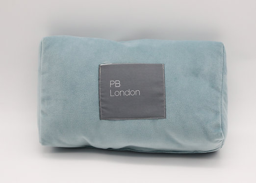 Pillow to fit a Chanel Flap Bag in Duck Egg Blue Velvet Large