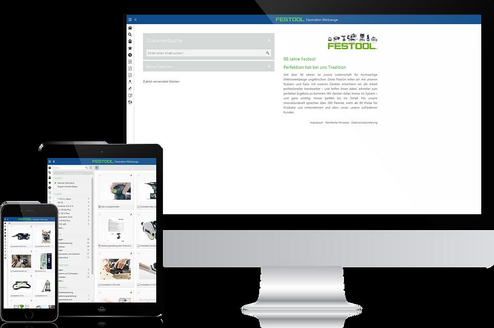 Noxum Secure Infoportal auf allen Endgeräten - online und offine