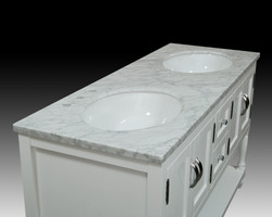 """Cottage"" Double Sink Vanity"