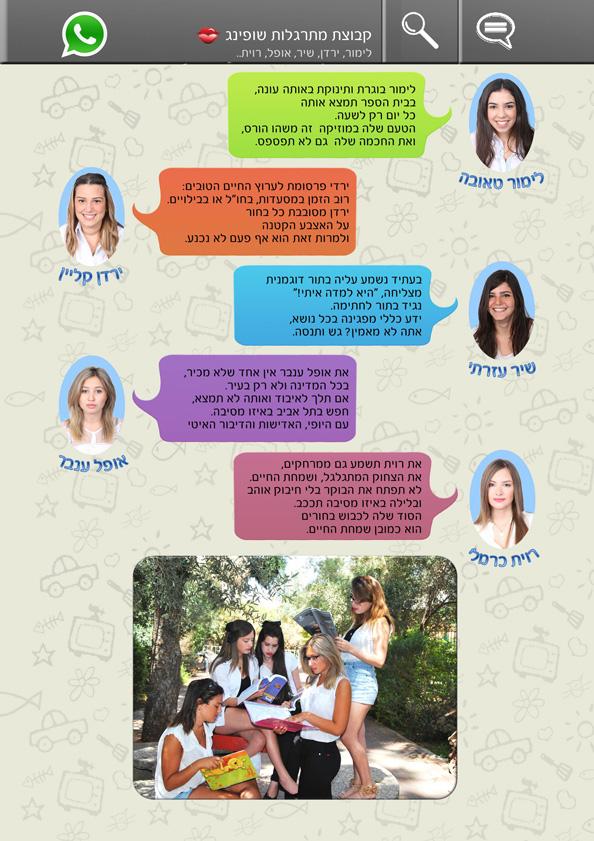ספר מחזור - עמוד תלמידים - 5 בעמוד