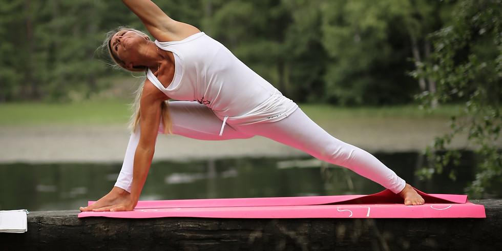 Myk Yoga Flow og meditasjon m/Line Morgenstierne