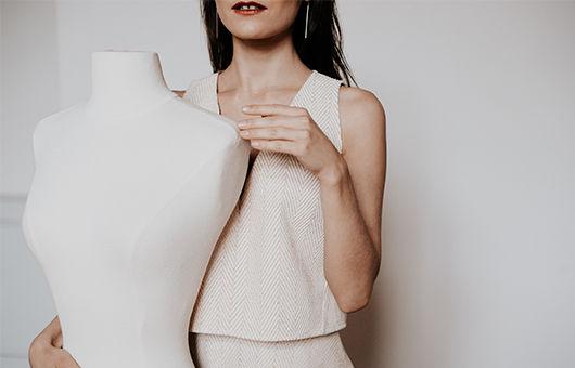 Marque française de robe minimaliste, chic et épuré, Delphine Josse, Fabriqué en france