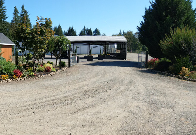 Front Entrance of Keddie Farms