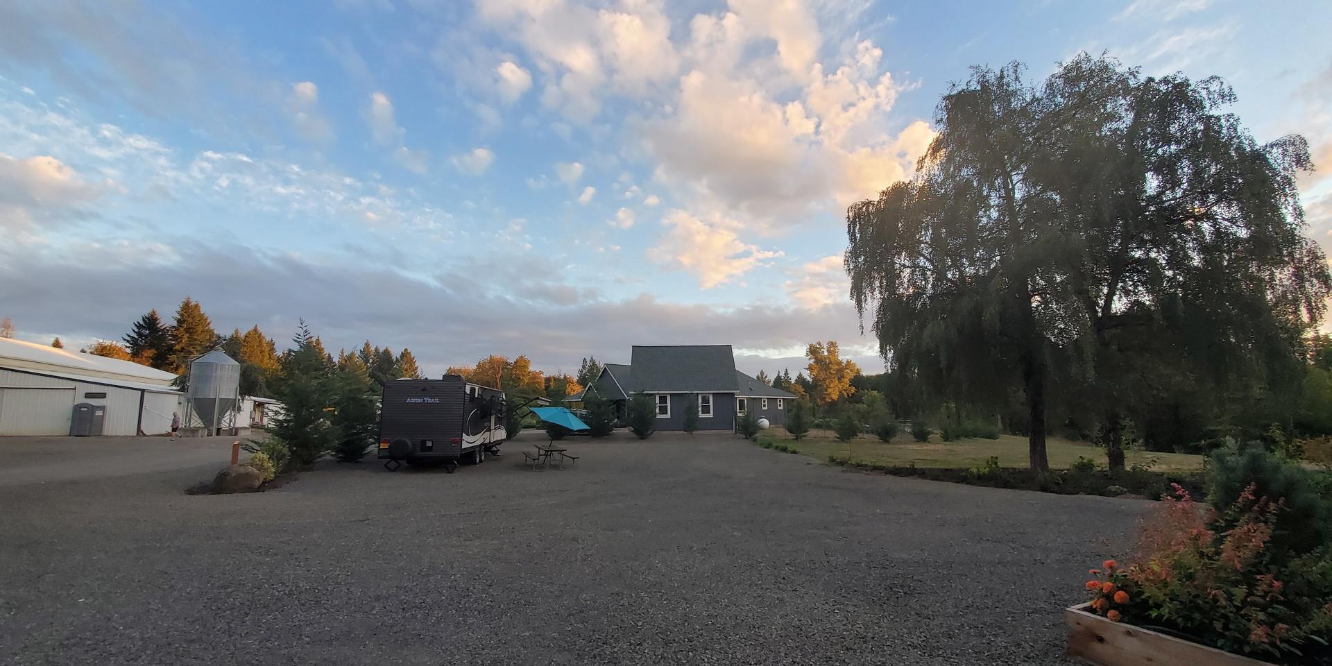 Keddie Farms at Sunset
