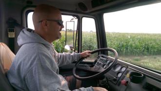 Reg driving Semi