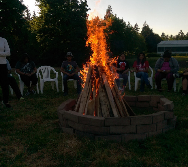 Camp fire and Medicine Stories