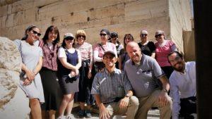 Kav L'Noar Bar Mitzvah Year - Staff in Jerusalem Old City