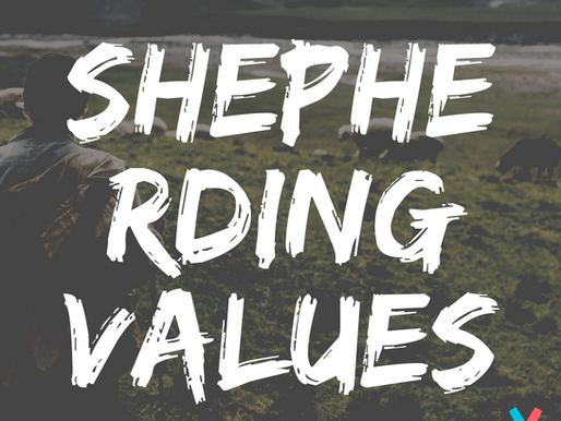 Shepherding Values