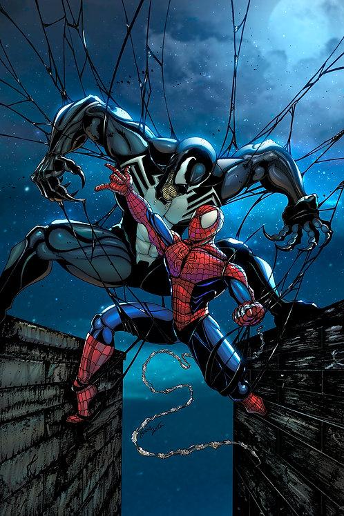 Limited Edition Print (Spiderman vs. Venom)