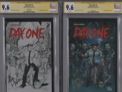 CGC Signature Series Day One #1 B&W and Color (9.6)