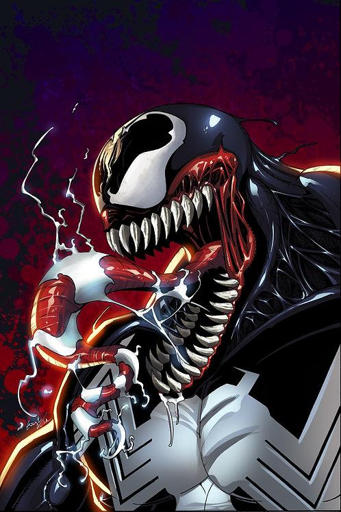 Metal Print (Venom)