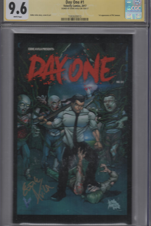 CGC Signature Series Day One #1 Color (9.6)