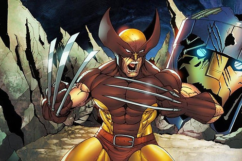 Limited Edition Print (Wolverine vs. Sentinel)