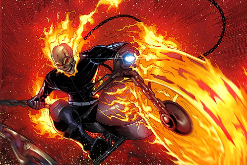 Limited Edition Print (Ghost Rider)