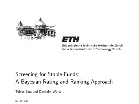 Screening for Stable Funds