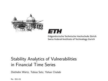 Stability Analytics of Vulnerabilities in Financial Time Series