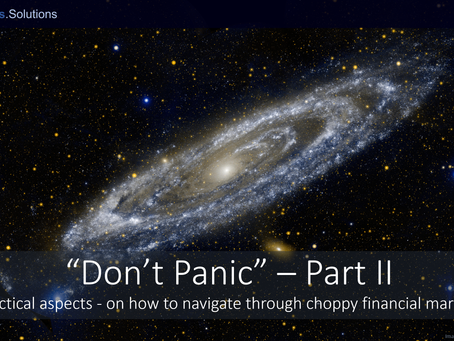 """Don't Panic"" - Part II"