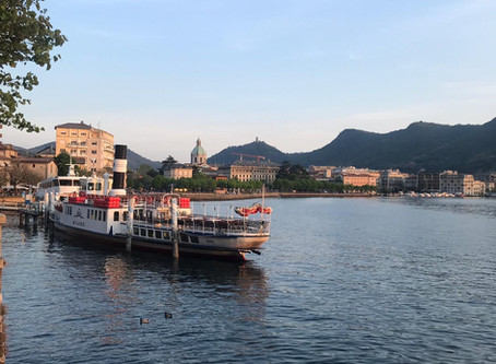 Boat tour on ComoLake