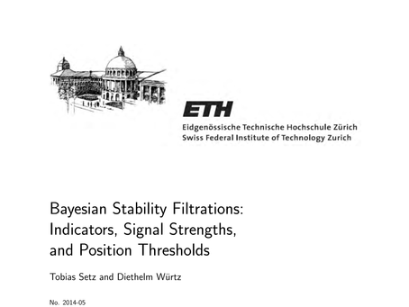 Bayesian Stability Filtrations