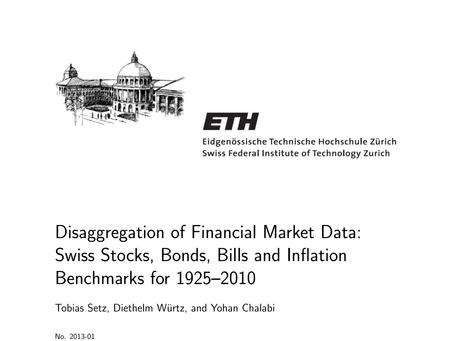 Disaggregation of Financial Market Data