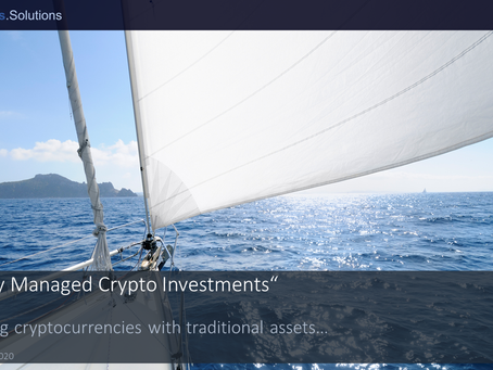 """Actively Managed Crypto Investments"" - Combining cryptocurrencies with traditional assets…"