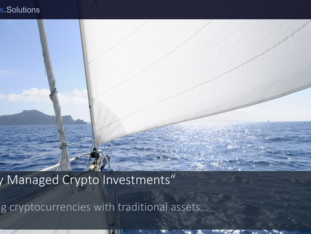 """""""Actively Managed Crypto Investments"""""""