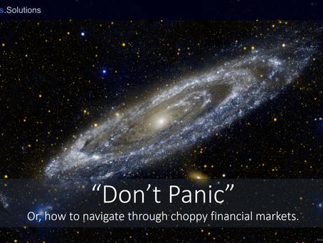 """Don't Panic"""