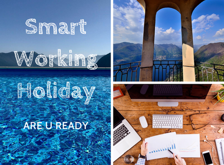 Smart working holiday