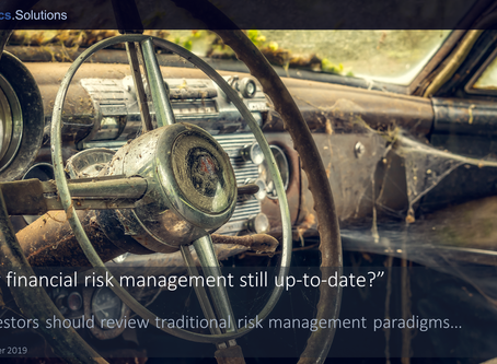 """""""Is your financial risk management still up-to-date?"""""""