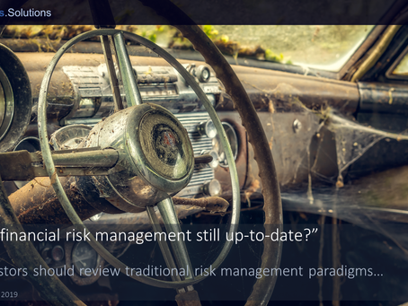 """Is your financial risk management still up-to-date?"""