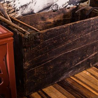 Baú onde os primeiros Tascas trouxeram suas ferramentas e roupas em 1882