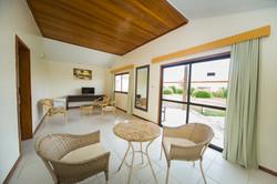 Bangalô - sala de estar